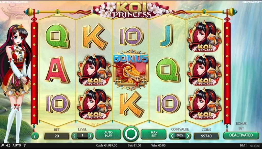 Koi Princess slot Betsson
