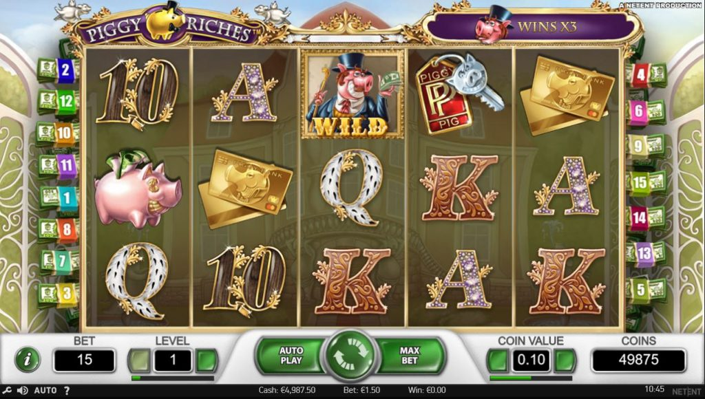 Piggy Riches slot Betsson