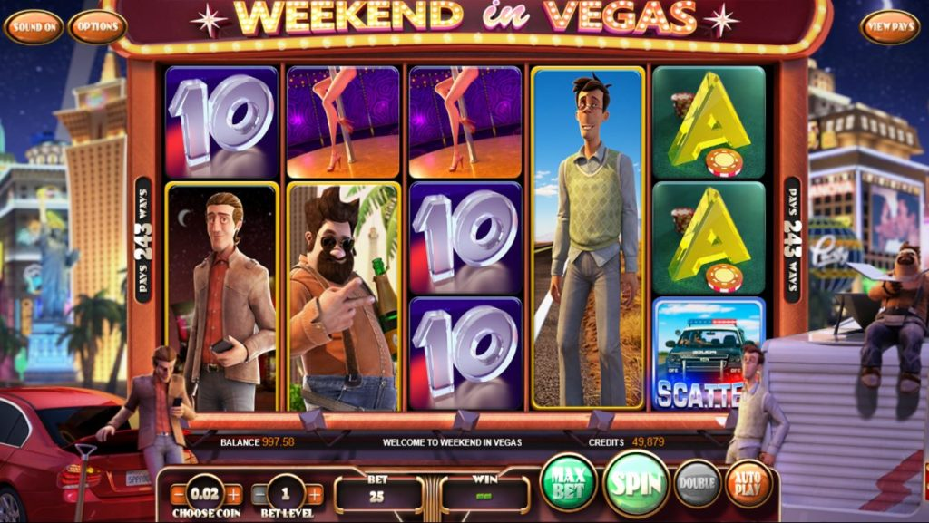 Weekend in Vegas slot Turbo
